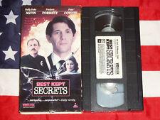 Best Kept Secrets (VHS, 1984)  Patty Duke, Peter Coyote, Drama Thriller Rare