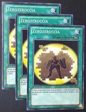 Set 3X ZEROZEROCCIA  CBLZ-IT054 Magia Comune in Italiano YUGIOH