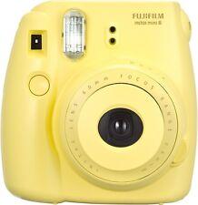 Fujifilm Fuji Instax Mini 8 Instant Film Camera Yellow