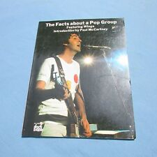 Collectible The Facts About A Pop Group, Featuring Wings 1976 1st Edition