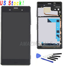 New LCD Touch Screen Digitizer +Frame For Sony Xperia Z3 D6603 D6643 D6653 D6616