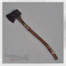 "Shrunken Head Studios Bits & Pieces Woodsmans Axe for 1/6 Scale 12"" Figure"