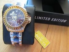 CL/NWT $895 INVICTA MICKEY MOUSE LIMITED EDITION LADIES WATCH/WALT DISNEY/RARE!