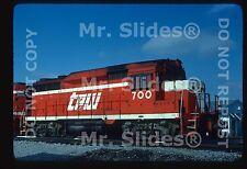 Original Slide TP&W Toledo Peoria & Western 1 Only GP30 700 E.Peoria IL 1982