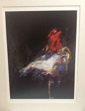 "New!Encho Pironkov Quadrichromie  17""x12"" Matted To16""X20"" Signed On Plate W Coa"