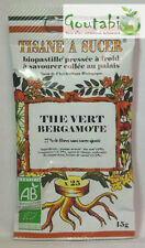 Biopastilles - Tisanes à sucer Thé vert / Bergamote Bio - 15 g