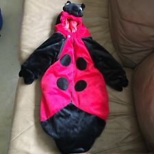 Infant Lady Bug Bunting Baby Costume Underwraps Halloween Quilted Lining