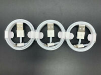 3 Pack-3FT USB Cable For OEM Original A pple i Phone6 7 8 X XR Lightning Charger
