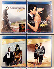 4 Blu-ray Movie Bundle Deal•James Bond 007*ALL BRAND NEW & FACTORY SEALED!