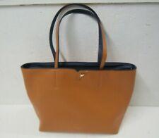 FIORELLI Large Faux Leather PU Orange & Blue Hand Bag - Excellent