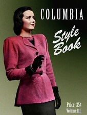 Columbia #111 c.1947 - Classy Vintage Fashion Knitting Patterns for Women