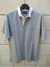 Polo SERGE BLANCO Quinze maillot 15 rugby shirt M gris