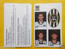 1998 phone cards 100 units udinese turci schede telefoniche 1998 telefonkarten
