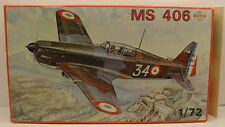 SMER Plastic Model Kit Military Plane MS 406 Morane Saulnier 1:72 Scale