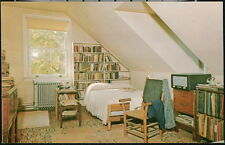FLAT ROCK NC Connemara Farms Main House Carl Sandburg Bedroom Vtg Postcard Home