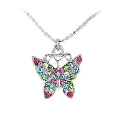 Multi Color Butterfly Animal Insect Bling Charm Anklet Summer Fashion Jewelry