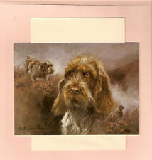 Wire Haired German Pointer Notecards Note Cards by Mick Cawston Pack of 5 (c)