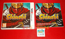SHINOBI Nintendo 3Ds Versione Inglese Gioco in Italiano 1ª Edizione ○ USATO - DT