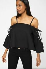 Waist Length Party Holiday Tops & Shirts for Women