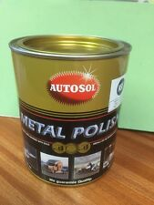 AUTOSOL METAL POLISH WITH FREE MICRO FIBRE CLOTH 750ml