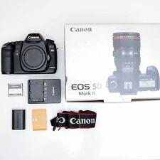 Canon EOS 5D Mark II camera body, +64 GB compact flash, charger, original box