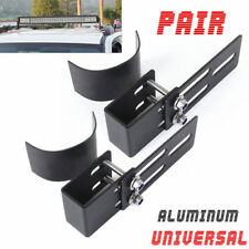 2X Car SUV Roof Rack Light Bracket Crossbar Luggage-Rack Bumper Bull Bar Holder