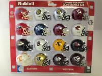 SEC REVOLUTION POCKET PRO HELMET SET RIDDELL ORIGINAL PACKAGE ALABAMA 15