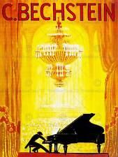 MUSIC CONCERT ADVERT BECHSTEIN PIANO PIANIST OPERA HOUSE ART PRINT POSTER CC455