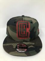LOS ANGELES LA CLIPPERS Camo NBA Basketball NEW ERA 9FIFTY Snapback Hat