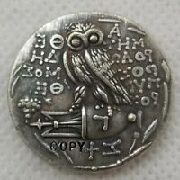 Ancient Greek Owl Tetradrachm coin