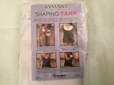 KYMARO LIGHT PINK STRETCH SHAPING TANK TOP~XL