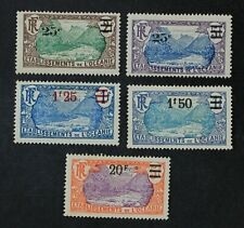CKStamps: France Stamps Collection French Polynesia Scott#65-69 H OG #68 Thin