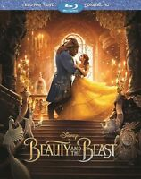 NEW Beauty and the Beast (Blu-Ray + DVD + Digital HD) - Factory Sealed!