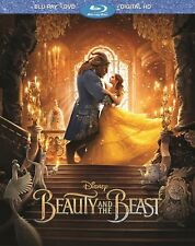 Beauty and the Beast (Blu-ray/DVD, Includes Digital Copy) New Sealed with Sleeve