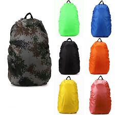 Waterproof Backpack cover 35L 70L Bag Camping Hiking Outdoor Rucksack Rain Dust