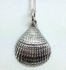 Seashell Pendant Necklace Sterling Silver, New, Actual One. UK Seller. Chain