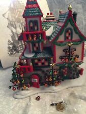 Dept 56 Glass ornament works. North pole series heritage village collection.