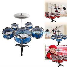 Set of Random Color Jazz Drum Playset Percussion Musical Instrument for Kids #A