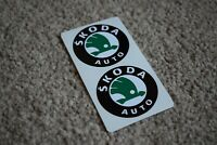 SKODA AUTO Sport Racing Rally Motorsport Race Car Decal Sticker Logo 100mm