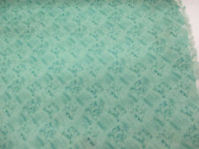 Verde Cuadrados/Harlequin Diseño Estampado 100% Algodón Tela De Cortina