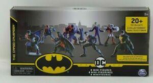 DC  8 Mini Figures BATMAN ROBIN JOKER, etc. (Brand New Sealed)