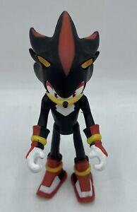 "SONIC THE HEDGEHOG Metallic SHADOW action figure 3"" BOOM Sega TOMY 4086"