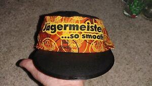 Vintage Jägermeister So Smooth Painters Hat Cap One Size Elastic