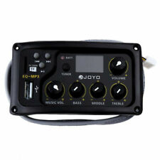 JOYO EQ-MP3 3Band EQ Mit Tuner Und MP3 Player Acoustic Guitar MP3 Equalizer