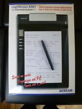 ACECAD DigiMemo A501 Digitaler A5 Notizblock - analog / digital - HÄNDLER - NEU