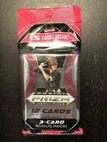 2020 Panini Prizm Draft Picks MLB 15 card Cello Packs Bonus 3 Card Pack
