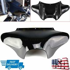 Vivid Black Outer Batwing Fairing For Harley Softail FL Road King Dyna FX Yamaha