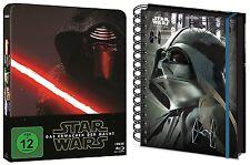 Steelbook Star Wars - Das Erwachen der macht + Cuaderno Blu-ray REGALO SET NUEVO