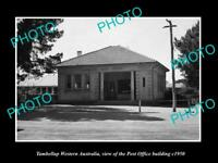 OLD LARGE HISTORIC PHOTO OF TAMBELLUP WESTERN AUSTRALIA, THE POST OFFICE c1950