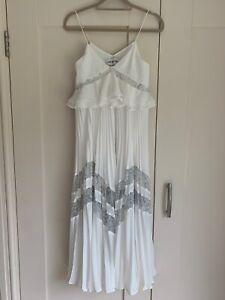 "Stunning Self-Portrait Long Party Dress ""Amelia"" White"